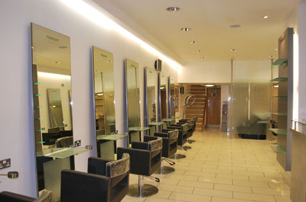 A picture the Detailed Vision work in Toni-&-Guy hair Salon in Ascot