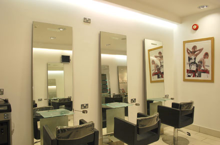A picture the finish Detailed Vision gave Toni-&-Guy hair Salon in Ascot
