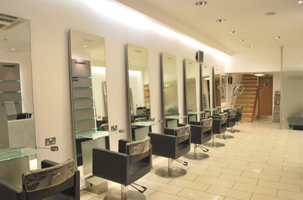 A picture the refresh Detailed Vision gave Toni-&-Guy hair Salon in Ascot